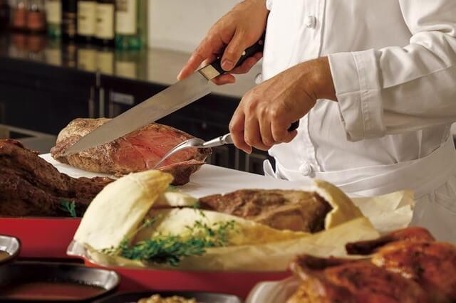 NYグリル&ブッフェ フィオーレ 【コートヤード・マリオット銀座東武ホテル】のインスタ映えお肉料理画像