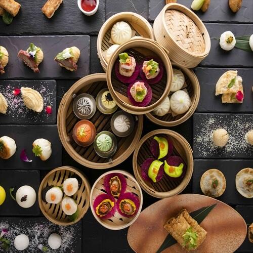 唐宮【ヒルトン東京お台場】のインスタ映え飲茶の画像