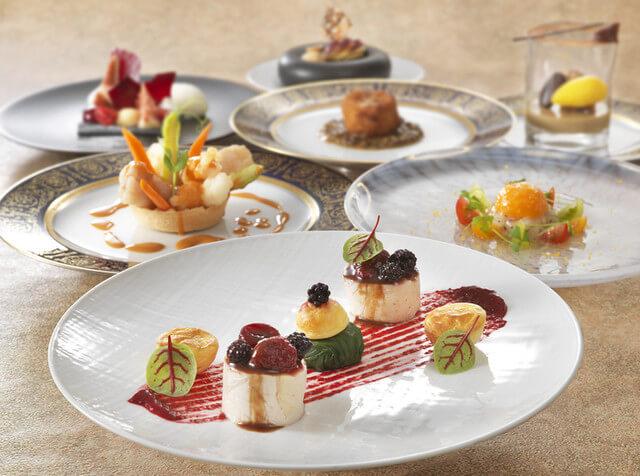レストラン シャンボール【リーガロイヤルホテル 29F】のインスタ映えフランス料理画像