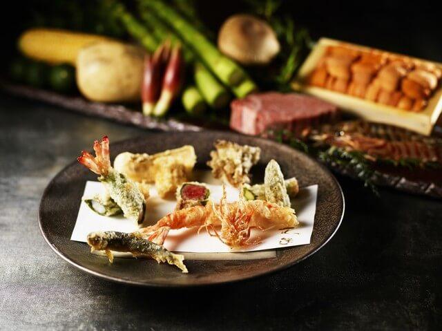 花筐【ザ・リッツ・カールトン大阪】のインスタ映えな和料理の画像