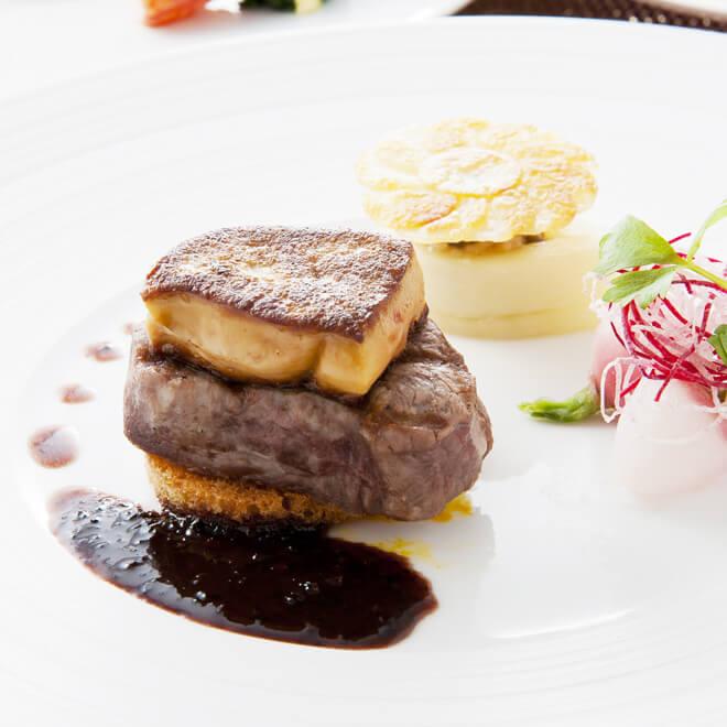フレンチレストラン フルーヴ【ホテルグランヴィア大阪 19F】のインスタ映えフランス料理画像