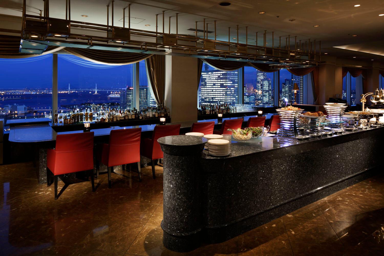 フレンチ ベイ・ビュー【横浜ベイシェラトン ホテル&タワーズ 28F】の内観画像
