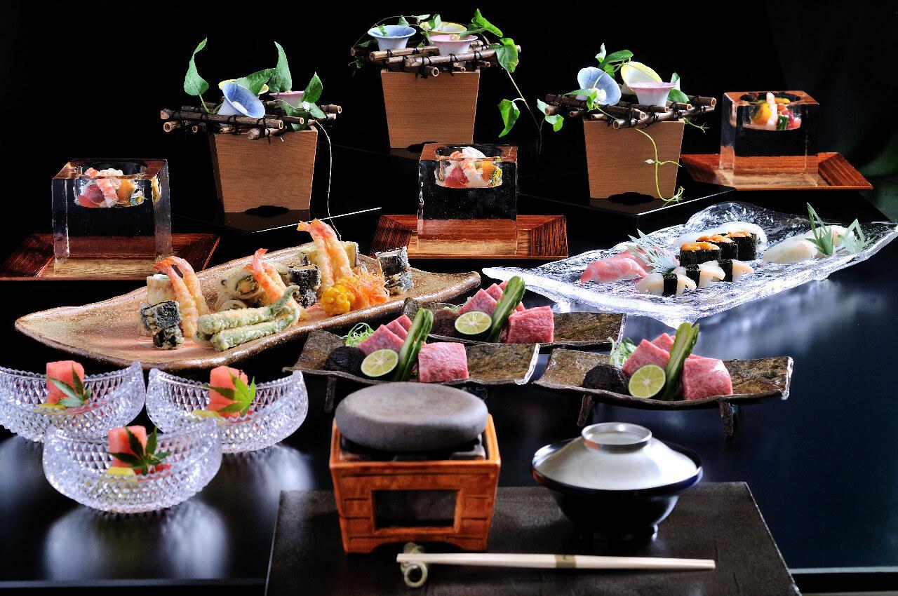 日本料理 木の花【横浜ベイシェラトン ホテル&タワーズ 8F】のインスタ映えコースランチの画像