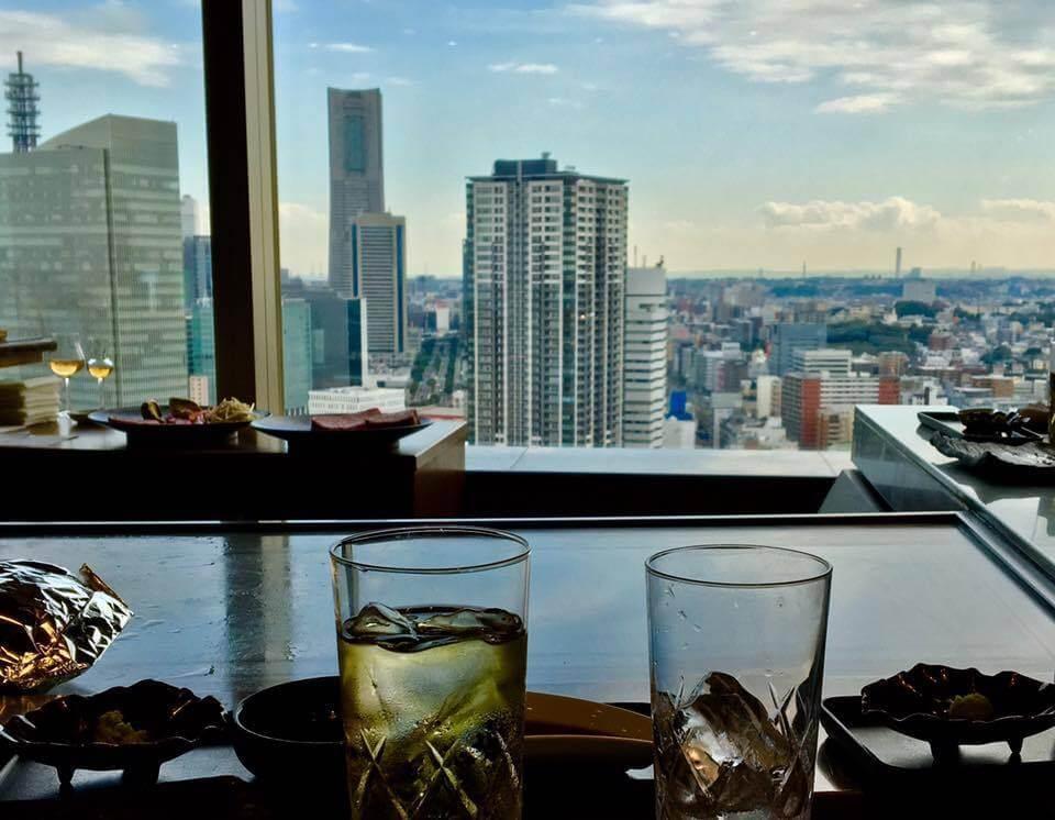 鉄板焼 さがみ【横浜ベイシェラトン ホテル&タワーズ 28F】の内観画像
