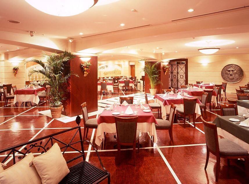 地中海料理 スタビアーナ【ホテル横浜キャメロットジャパン】の内観画像