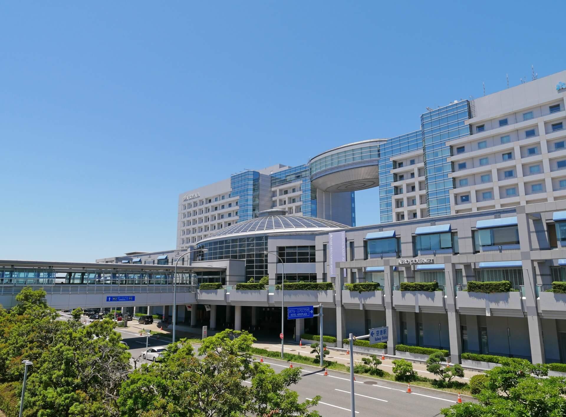 関西空港の外観の画像