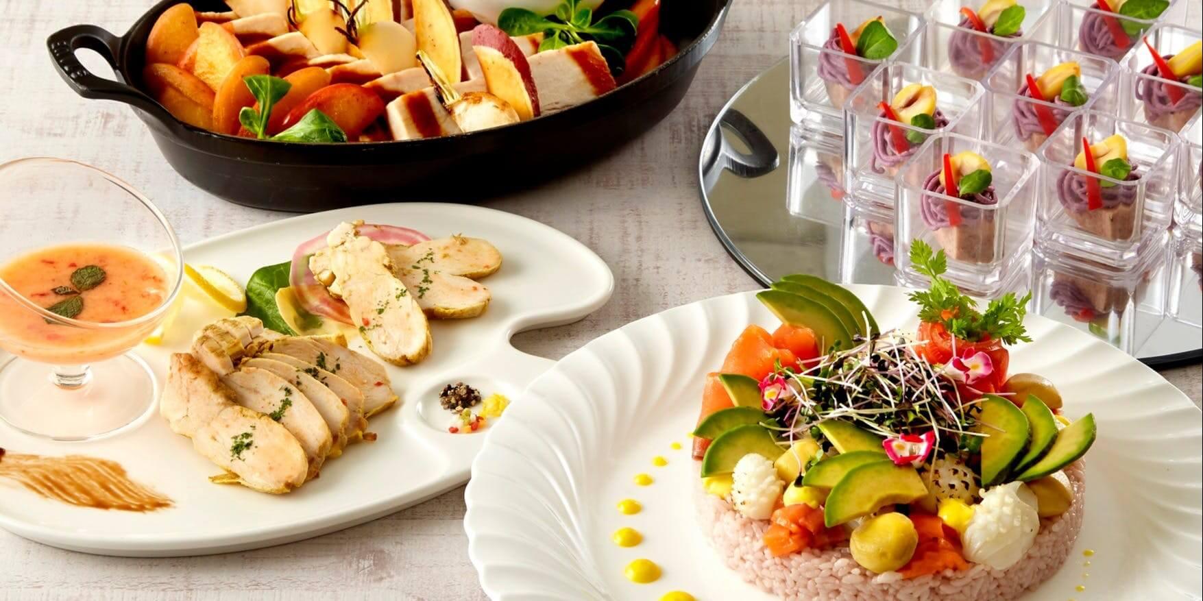 カフェ&ダイニング Chef's Palette【サンシャインシティプリンスホテル】のランチビュッフェ画像