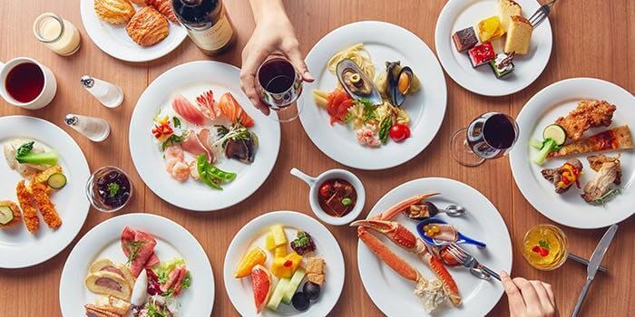 バイキングレストラン ル・プレジール【都ホテル】のインスタ映えランチの画像