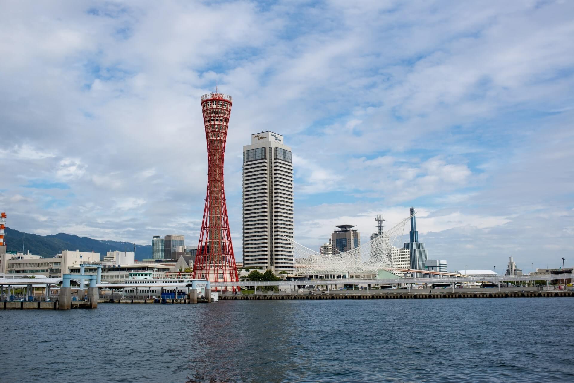 神戸市にあるメリケンパークの画像