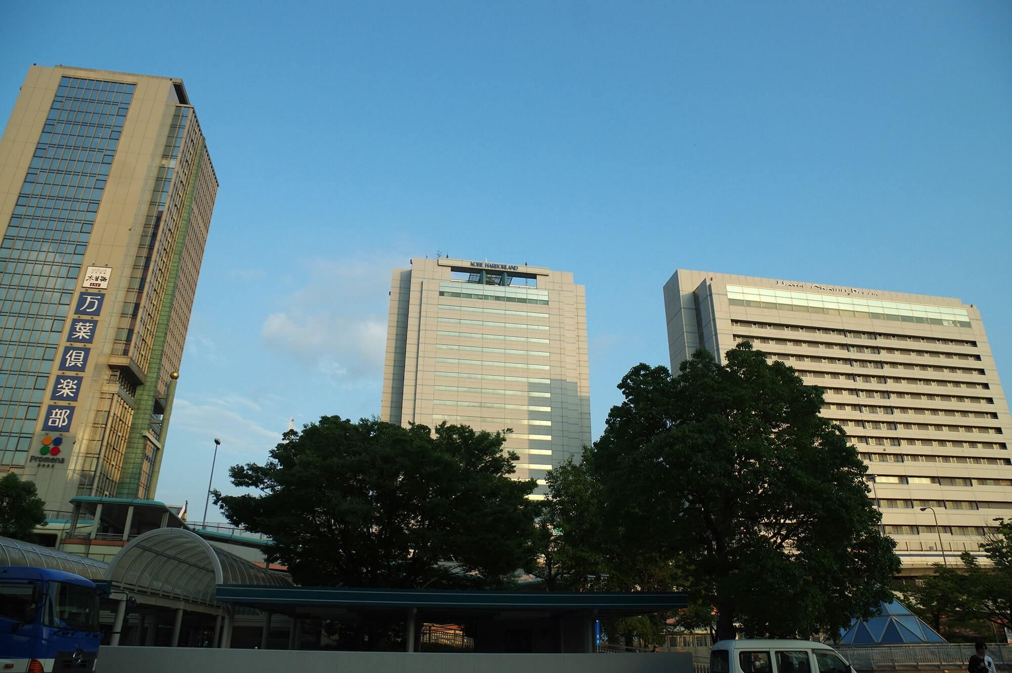 神戸駅前の画像