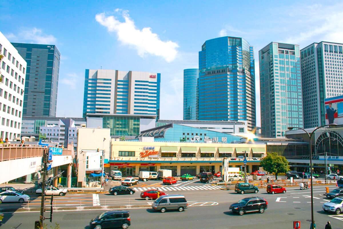品川駅高輪口の画像