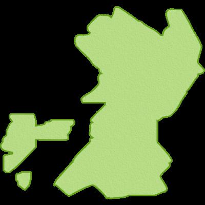 天草大王の産地熊本県のイラスト
